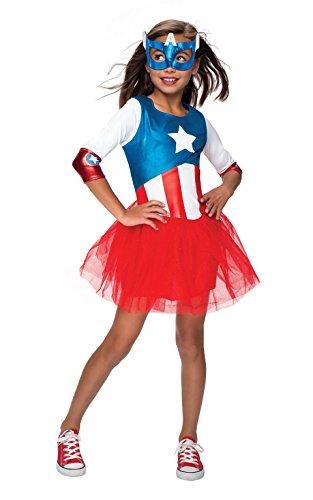 コスプレ衣装 コスチューム その他 620035_S Rubie's Marvel Classic Child's American Dream Metallic Costume, Smallコスプレ衣装 コスチューム その他 620035_S