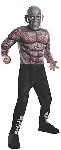 コスプレ衣装 コスチューム その他 620004_M Rubies Guardians of The Galaxy Deluxe Drax The Destroyer Costume, Child Mediumコスプレ衣装 コスチューム その他 620004_M