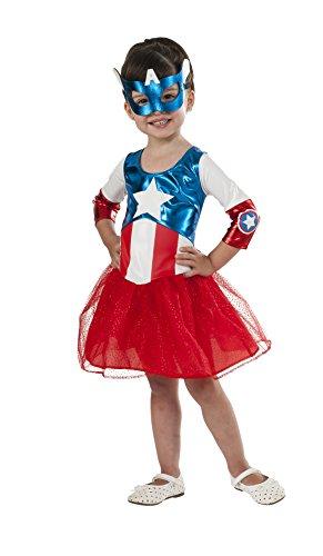 コスプレ衣装 コスチューム その他 620035_TODD 【送料無料】Rubie's Marvel Classic Child's American Dream Metallic Costume, Toddlerコスプレ衣装 コスチューム その他 620035_TODD