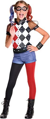 コスプレ衣装 コスチューム その他 620712_L Rubie's DC Superhero Girl's Harley Quinn Costume, Large コスプレ衣装 コスチューム その他 620712_L