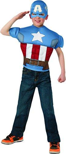 コスプレ衣装 コスチューム キャプテンアメリカ 620025_STD Marvel Avengers Assemble Children's Costume Set, Standard, Captain Americaコスプレ衣装 コスチューム キャプテンアメリカ 620025_STD