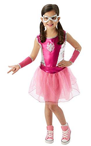コスプレ衣装 コスチューム その他 620033_L Rubie's Marvel Classic Child's Pink Spider-Girl Costume, Largeコスプレ衣装 コスチューム その他 620033_L