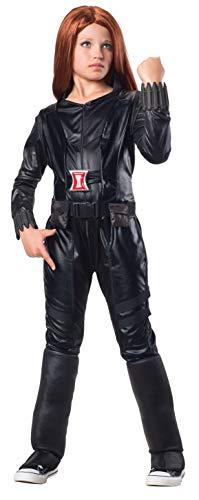 コスプレ衣装 コスチューム キャプテンアメリカ 620044_S Rubies Marvel Comics Collection: Captain America: The Winter Soldier Deluxe Black Widow Costume, Child Smallコスプレ衣装 コスチューム キャプテンアメリカ 620044_S