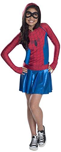 コスプレ衣装 コスチューム その他 610232L 【送料無料】Rubies Marvel Classic Child's Spider-Girl Hoodie Costume Dress, Largeコスプレ衣装 コスチューム その他 610232L