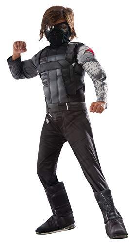 コスプレ衣装 コスチューム キャプテンアメリカ 620594_S Rubie's Captain America: Civil War Winter Soldier Deluxe Muscle Chest Costume, Sコスプレ衣装 コスチューム キャプテンアメリカ 620594_S