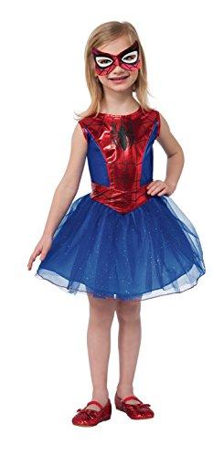 コスプレ衣装 コスチューム その他 880853_M Rubie's Marvel Classic Child's Spider-Girl Costume, Mediumコスプレ衣装 コスチューム その他 880853_M