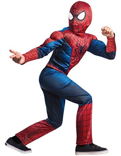 コスプレ衣装 コスチューム スパイダーマン 620045_M 【送料無料】Rubie's Marvel Comics Collection, Amazing Spider-man 2, Deluxe Spider-man Costume, Child Medium - Child Medium One Color (Discontinuコスプレ衣装 コスチューム スパイダーマン 620045_M