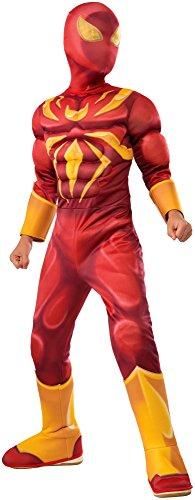 コスプレ衣装 コスチューム スパイダーマン 610871_S Rubie's Costume Spider-Man Ultimate Deluxe Child Iron Spider Deluxe Child Costume, Smallコスプレ衣装 コスチューム スパイダーマン 610871_S