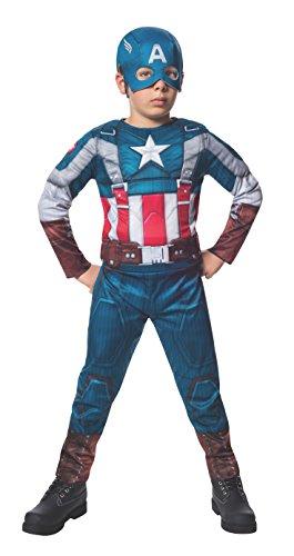 コスプレ衣装 コスチューム キャプテンアメリカ 620046_M The Winter Soldier Suit Captain America Costume, Child Mediumコスプレ衣装 コスチューム キャプテンアメリカ 620046_M