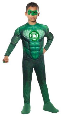 コスプレ衣装 コスチューム その他 881349 Green Lantern Animated Deluxe Hal Jordan Costume, Largeコスプレ衣装 コスチューム その他 881349