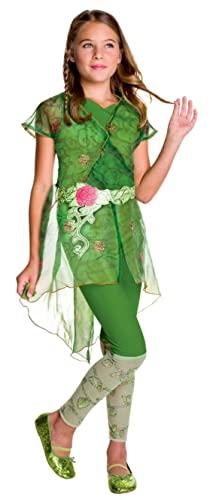 コスプレ衣装 コスチューム その他 620715_L Rubie's Costume Kids DC Superhero Girls Deluxe Poison Ivy Costume, Largeコスプレ衣装 コスチューム その他 620715_L
