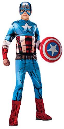 コスプレ衣装 コスチューム キャプテンアメリカ 620019_L Marvel Universe Avengers Assemble Captain America Costume, Largeコスプレ衣装 コスチューム キャプテンアメリカ 620019_L