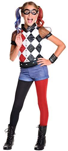 コスプレ衣装 コスチューム その他 620712_S Rubie's Costume Kids DC Superhero Girls Deluxe Harley Quinn Costume, Smallコスプレ衣装 コスチューム その他 620712_S