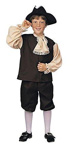 コスプレ衣装 コスチューム その他 RUB610497CHCM 【送料無料】Rubie's Child's Colonial Boy Costume, Mediumコスプレ衣装 コスチューム その他 RUB610497CHCM