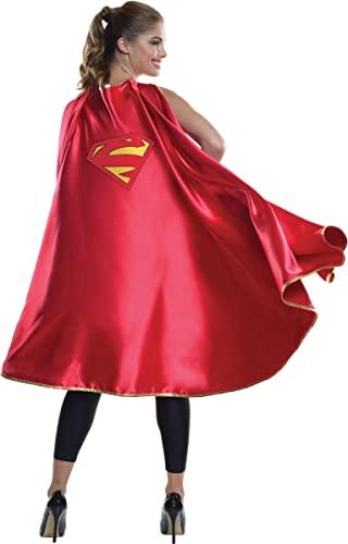 コスプレ衣装 コスチューム スーパーガール 36445 【送料無料】Rubie's Women's DC Superheroes Deluxe Supergirl Cape, Multi, One Sizeコスプレ衣装 コスチューム スーパーガール 36445