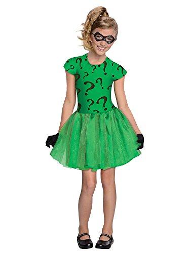 コスプレ衣装 コスチューム その他 886982S DC Super Villain Collection Riddler Girl's Costume with Tutu Dress, Smallコスプレ衣装 コスチューム その他 886982S