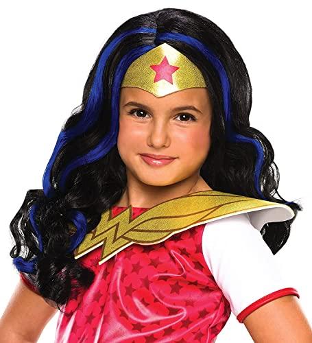 コスプレ衣装 コスチューム その他 32971 Rubie's Costume Girls DC Super Hero Wonder Woman Wigコスプレ衣装 コスチューム その他 32971