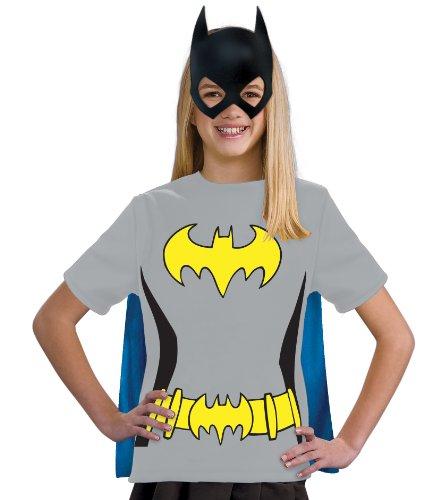 コスプレ衣装 コスチューム バットガール 881345 Justice League Child's Batgirl 100% Cotton T-Shirt - Largeコスプレ衣装 コスチューム バットガール 881345