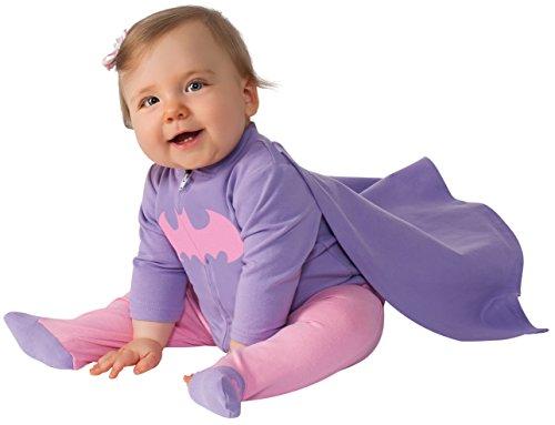 コスプレ衣装 コスチューム バットガール 887608 【送料無料】Rubie's Baby Girl's DC Comics Superhero Style Baby Batgirl Costume, Multi, 0-6 Monthsコスプレ衣装 コスチューム バットガール 887608