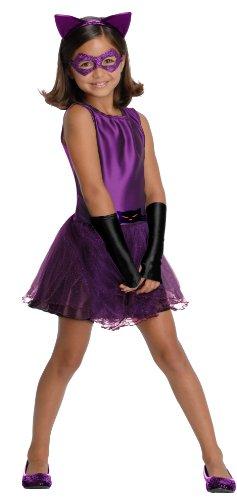 コスプレ衣装 コスチューム その他 886979S DC Super Villain Collection Catwoman Girl's Costume with Tutu Dress, Smallコスプレ衣装 コスチューム その他 886979S