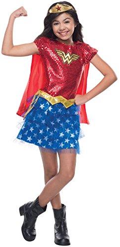 コスプレ衣装 コスチューム その他 610749_TODD Rubie's Costume DC Superheroes Wonder Woman Sequin Child Costume, Toddlerコスプレ衣装 コスチューム その他 610749_TODD