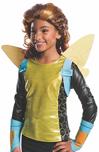 コスプレ衣装 コスチューム その他 32972 Rubie's Costume Girls DC Super Hero Bumblebee Wigコスプレ衣装 コスチューム その他 32972