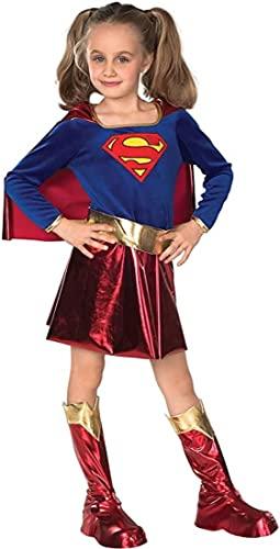 コスプレ衣装 コスチューム スーパーガール Rubie's x Red/Blueコスプレ衣装 コスチューム スーパーガール