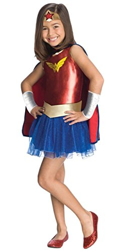コスプレ衣装 コスチューム その他 【送料無料】Superhero Tutu Kids Costume Wonder Woman - Mediumコスプレ衣装 コスチューム その他