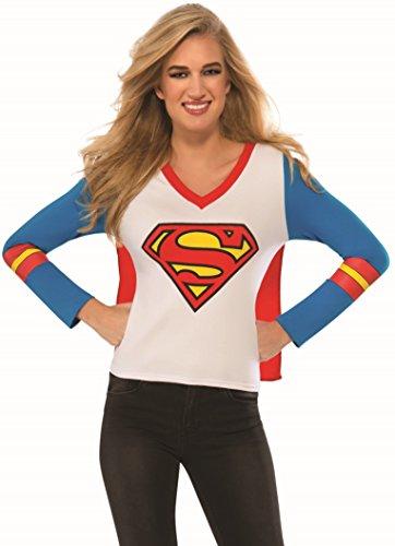 コスプレ衣装 コスチューム スーパーガール 880436 Rubie's Women's DC Superheroes Supergirl Sporty Tee, Multi, Smallコスプレ衣装 コスチューム スーパーガール 880436