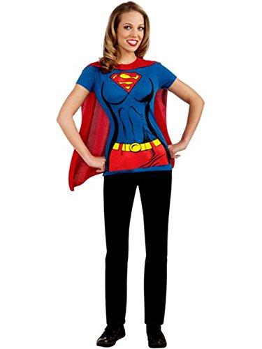 コスプレ衣装 コスチューム スーパーガール 2804_5250 【送料無料】Female Superhero T-Shirt Adult Costume Supergirl - X-Largeコスプレ衣装 コスチューム スーパーガール 2804_5250