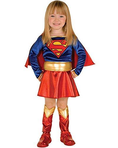 コスプレ衣装 コスチューム スーパーガール 【送料無料】Rubie's Childs Girls Super Girl Super Hero Toddler Costume Set Size( Toddler 1-2 Years)コスプレ衣装 コスチューム スーパーガール