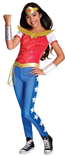 コスプレ衣装 コスチューム その他 620716_L 【送料無料】Rubie's Costume Kids DC Superhero Girls Deluxe Wonder Woman Costume, Largeコスプレ衣装 コスチューム その他 620716_L