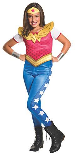 コスプレ衣装 コスチューム その他 620743_L Rubie's Costume Kids DC Superhero Girls Wonder Woman Costume, Largeコスプレ衣装 コスチューム その他 620743_L