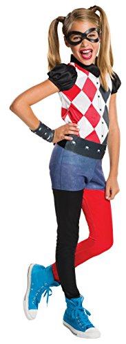 コスプレ衣装 コスチューム その他 620744_L 【送料無料】Rubie's Costume Kids DC Superhero Girls Harley Quinn Costume, Largeコスプレ衣装 コスチューム その他 620744_L