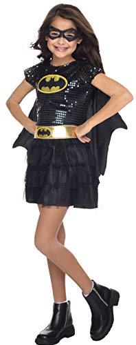 コスプレ衣装 コスチューム バットガール 610750_S 【送料無料】Rubie's Costume DC Superheroes Batgirl Sequin Dress Child Costume, Smallコスプレ衣装 コスチューム バットガール 610750_S