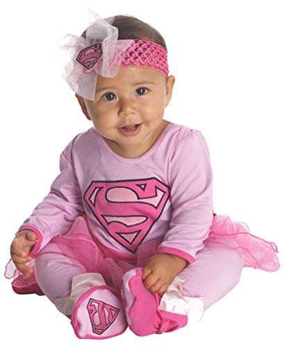 コスプレ衣装 コスチューム スーパーガール 881201NWBN Rubie's Baby's DC Comics Supergirl Costume, Pink, 0-6 Monthsコスプレ衣装 コスチューム スーパーガール 881201NWBN