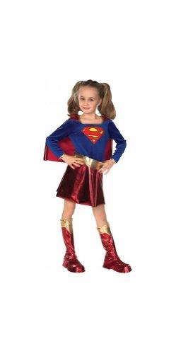 コスプレ衣装 コスチューム スーパーガール 【送料無料】Supergirl Child Costume - Small (4-6)コスプレ衣装 コスチューム スーパーガール