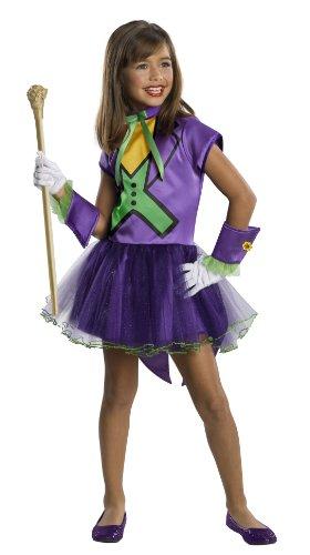 コスプレ衣装 コスチューム その他 886981S 【送料無料】DC Super Villain Collection Joker Girl's Costume with Tutu Dress, Smallコスプレ衣装 コスチューム その他 886981S