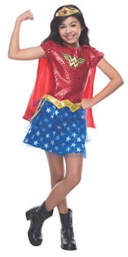コスプレ衣装 コスチューム その他 610749_S 【送料無料】Rubie's Costume DC Superheroes Wonder Woman Sequin Child Costume, Smallコスプレ衣装 コスチューム その他 610749_S
