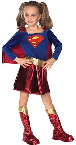 コスプレ衣装 コスチューム スーパーガール 82314LG 【送料無料】Girls Supergirl Kids Child Fancy Dress Party Halloween Costume, S (4-6)コスプレ衣装 コスチューム スーパーガール 82314LG