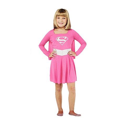 コスプレ衣装 コスチューム スーパーガール Rubie's Pink Supergirl Child Costume, Size Smallコスプレ衣装 コスチューム スーパーガール
