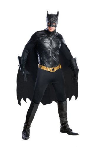コスプレ衣装 コスチューム バットマン 56309L 【送料無料】Batman The Dark Knight Rises Grand Heritage Deluxe Batman, Black, Large Costumeコスプレ衣装 コスチューム バットマン 56309L