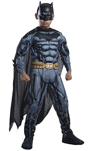 コスプレ衣装 コスチューム バットマン 881365_S Rubies DC Comics Deluxe Muscle-Chest Batman Costume, Child Smallコスプレ衣装 コスチューム バットマン 881365_S