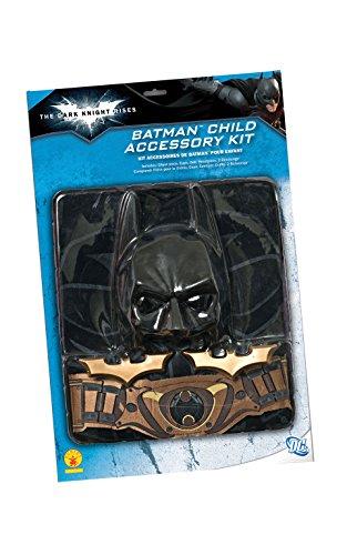 コスプレ衣装 コスチューム バットマン 5484 【送料無料】Batman: The Dark Knight Rises: 6 Piece Costume Accessory Set, Child Size (Black)コスプレ衣装 コスチューム バットマン 5484