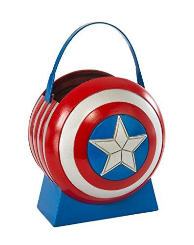 コスプレ衣装 コスチューム キャプテンアメリカ 36403_NS Avengers 2 Age of Ultron Captain America Collapsible Shield Pailコスプレ衣装 コスチューム キャプテンアメリカ 36403_NS