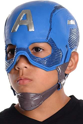 コスプレ衣装 コスチューム キャプテンアメリカ 32704 Rubie's Costume Captain America: Civil War Kid's Captain America Full Vinyl Maskコスプレ衣装 コスチューム キャプテンアメリカ 32704