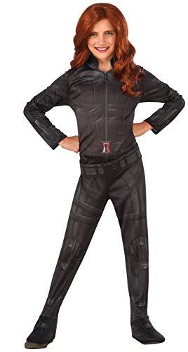 コスプレ衣装 コスチューム キャプテンアメリカ 620767_M Rubie's Costume Captain America: Civil War Black Widow Child Costume, Mediumコスプレ衣装 コスチューム キャプテンアメリカ 620767_M