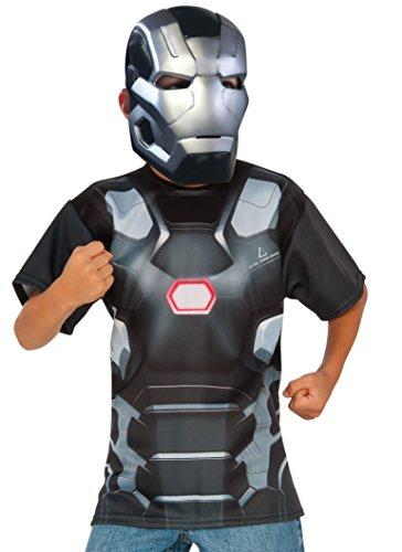 コスプレ衣装 コスチューム キャプテンアメリカ 620723_S Rubie's Costume Captain America: Civil War - War Machine Child Top and Mask, Smallコスプレ衣装 コスチューム キャプテンアメリカ 620723_S