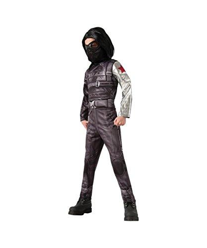 コスプレ衣装 コスチューム その他 【送料無料】Deluxe Winter Soldier Costume - Smallコスプレ衣装 コスチューム その他
