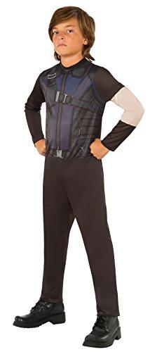 コスプレ衣装 コスチューム キャプテンアメリカ 620579_L 【送料無料】Rubie's Costume Captain America 3: Civil War Hawkeye Kids Value Costume, Largeコスプレ衣装 コスチューム キャプテンアメリカ 620579_L